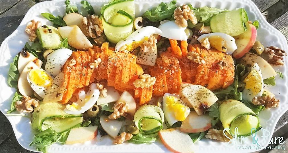 salade zoete aardappel