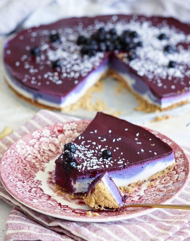 bosbessen cheesecake 2