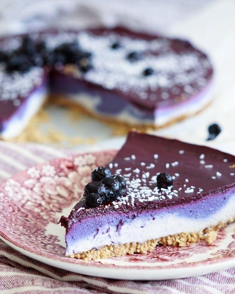 bosbessen cheesecake 3